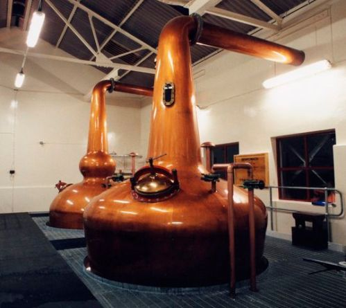 Benromach stills