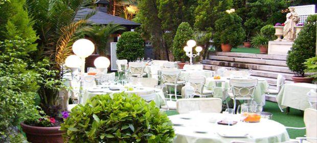 El jard n del miguel ngel terraza urbana mi cuchara de for Jardin hotel miguel angel