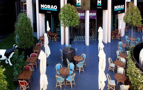 Morao Tapas, Castellana 95, Torre Europa jardín